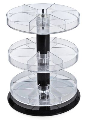 Revolving Counter Display Racks Rotating Spinner Displays Spinning Counter Rack
