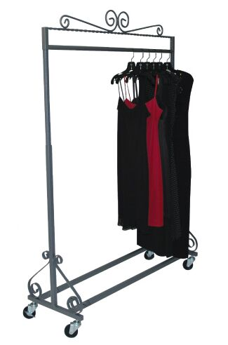 clothing rack elegant garment rack display store rack rolling