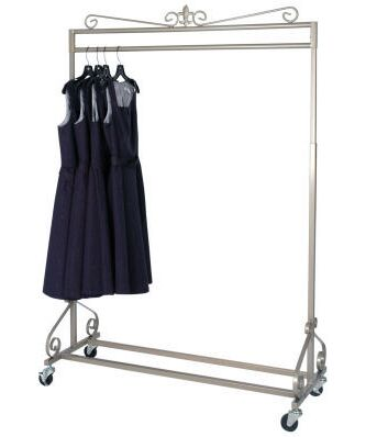 Girls clothing stores. Container store clothing rack