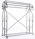 Display Double Bar Rack , Clothing Rack