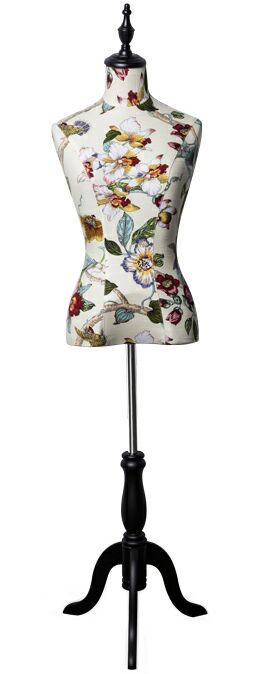 Decorative Female Dress Form Ladies Dress Form Display Dress Form