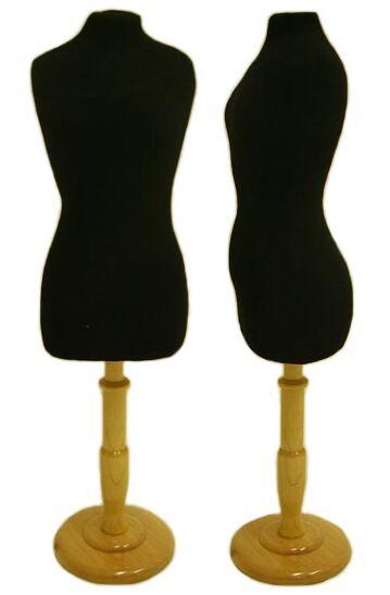 Counter Mini Dress Form, Display Dress Form Stand, Fashion ...