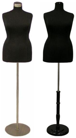 Boutique Dress Form Plus Size Display Dress Body Torso Ladies Form