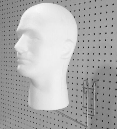Styrofoam Mannequin Head Bracket Holder For Styrofoam Head