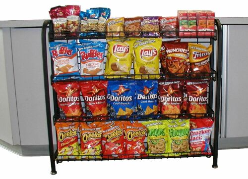 Candy Rack Gas Station Snack Display