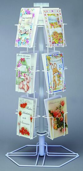 Greeting card display rack spinning post cards rack greeting card rack post cards rack wire display m4hsunfo
