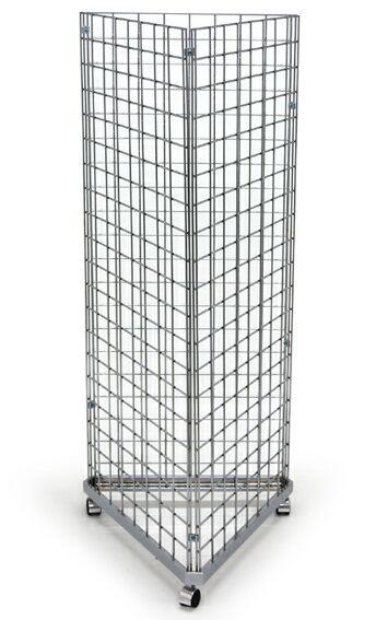 gridwall rolling display grid floor display
