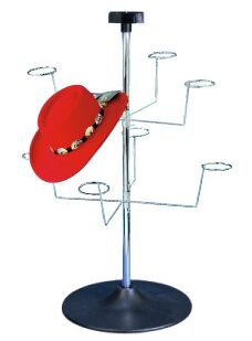 Spinner Counter Hat Rack Spinning Rack Wire Display Counter Top