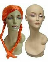 Display Female Mannequin Heads, Sunglass Displays, Wig Display Forms