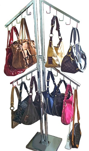Display Handbag Rack Purse Display Purse Holder Handbag Stand