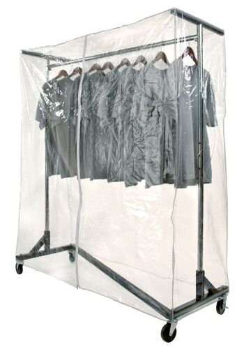Garment Rack Cover Protection Clothing Rack Cover Clothes Rack