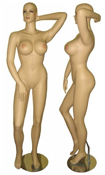 mannequin large breasts