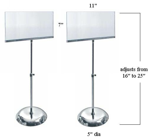 Wondrous Sign Display Rack Counter Sign Holder Banner Stand Sign Interior Design Ideas Gresisoteloinfo