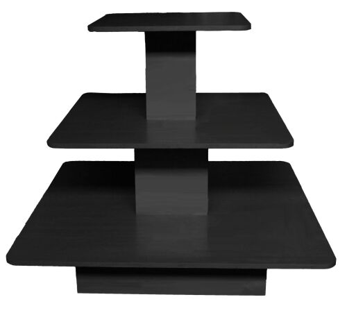 floor display table clothing store wood display unit display unit with tiers. Black Bedroom Furniture Sets. Home Design Ideas